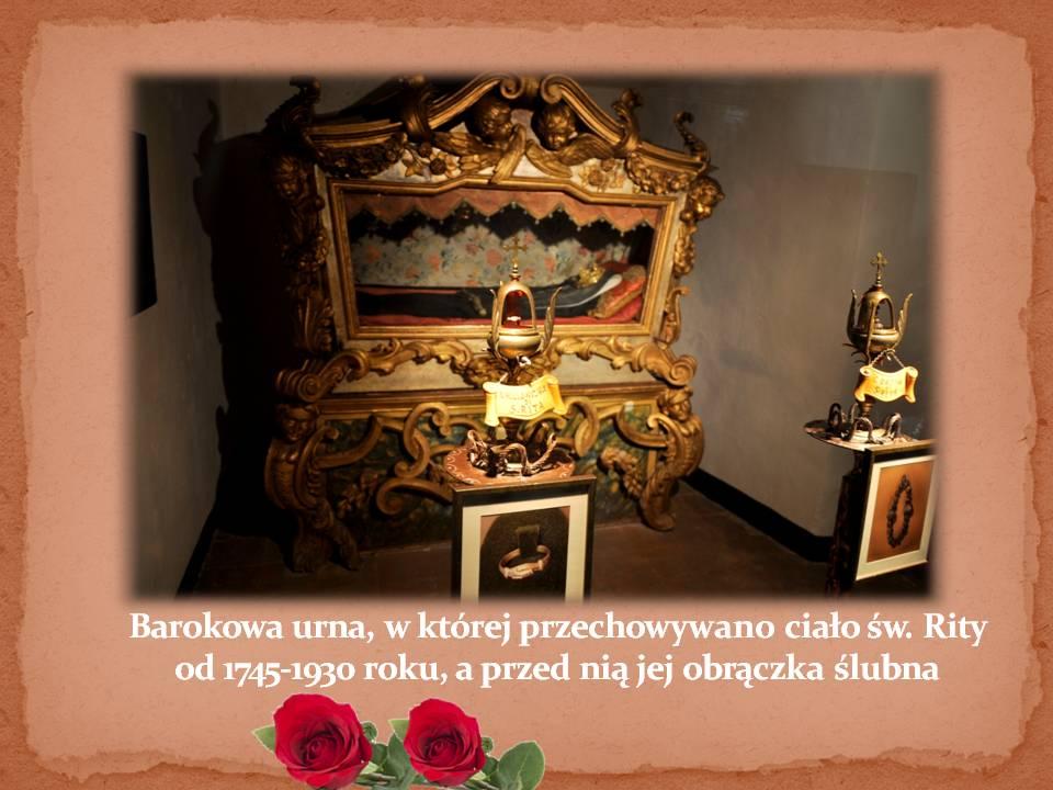 Prezentacja święta Rita Nowy Sącz