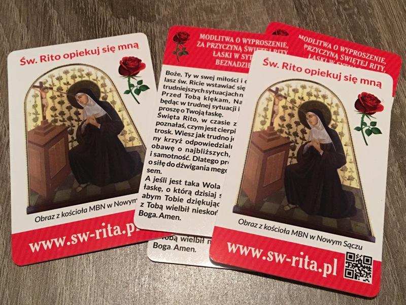 święta Rita Nowy Sącz Parafia Matki Bożej Niepokalanej